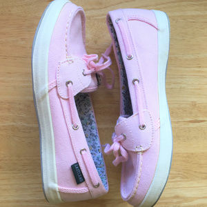 Eastland Boat Shoes Pink Active Memory Foam Sz 6m